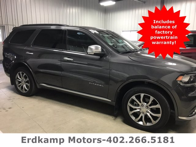Pre-Owned 2017 Dodge Durango Citadel Anodized Platinum